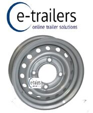 "13"" Trailer Wheel STARCO Rim 4.5J- 5.5"" 140mm PCD Fits Ifor Williams 95mm center"