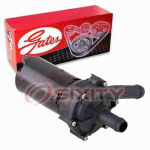 Gates To Supercharger Engine Auxiliary Water Pump for 2006-2009 Cadillac XLR nh