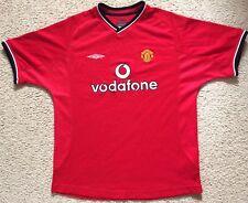 Manchester United Soccer Football Shirt Jersey - Kids Size LB 12-13 158 cms VGC