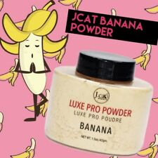 Jcat Banana Powder Oil Control Highlight Bake Face Powder Makeup Make Up Matte