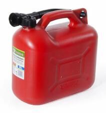 Tanica omologata UN in plastica con boccaglio per benzina carburante 10 litri