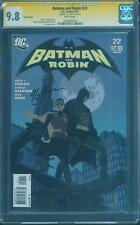 Batman Robin 22 CGC SS 9.8 J G Jones Signed Top 1 Variant