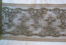 Ancienne large dentelle de Calais - couture, mercerie