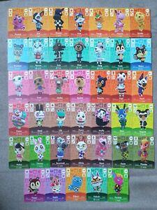 Animal Crossing NFC Amiibo Karten Bewohner Villagers für Switch / Lite / New 3DS