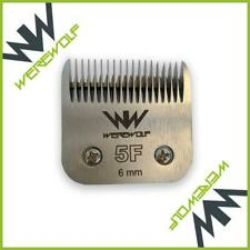 Werewolf Professional Dog Clipper Blade Size 5F 6mm Fits Oster, Andis, Sure Clip