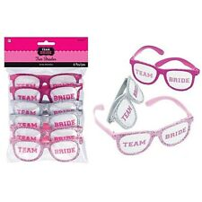 Hens Night Party Accessories Team Bride Glasses Gifts Favours Presents