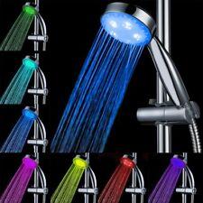 Romantic Glow Home Bathroom Light Water Bath Shower Head ShowerHead LED 7Color