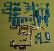 1957 Chevy Bel Air 1/25 283 v8 motor engine chrome valve cover model car parts