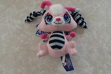 "Littlest Pet Shop Moonlight Moonlite Fairies  8"" Plush Hasbro Fairy Soft Lovey"