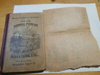 1878 The Normal Elementary Arithmetic. Edward Brooks Sower Potts, Phila + BONUS