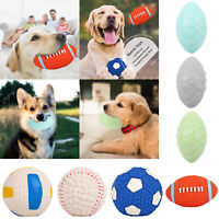 Pet Dog TPR Toy Rubber Ball Puppy Bite Chew Molar Interactive Training Toys Kit