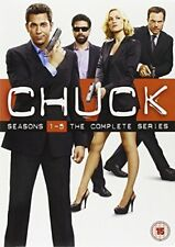 Chuck The Complete Seasons 1-5 5051892117159 DVD Region 2