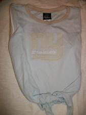 Capezio Dance Top Women Frontline NY Groove Tank Sky Blue or Black New In Bag!