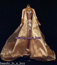 Sexy Starlet Golden Evening Wear Fashion for Barbie Doll Goddess - Q