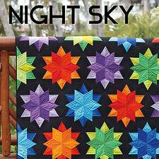 NIGHT SKY QUILT PATTERN 5 Sizes Uses Sidekick Ruler JAYBIRD QUILTS Side Kick