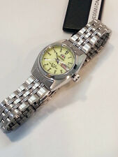 ORIENT 3 Star Automatic Watch LADIES Luminous dial Silver tone Stainless Steel