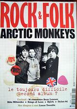 ROCK & FOLK N° 477 Mai 2007 Arctic Monkeys, Rita Mitsouko, Kings of Leon, Björk