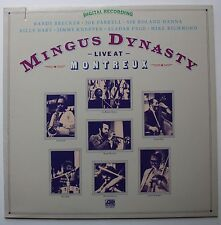 Mingus Dynasty Joe Farrell Jimmy Knepper Atlantic Live LP 1981