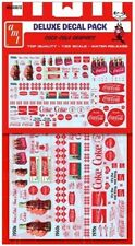 AMT #30 Top Quality Coca-cola Graphics Waterslide Decals 1/25