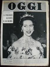 Rivista OGGI 1959 n.18 PAOLA RUFFO=PIERANGELI=MARGARET=VIE DI DANTE=CHAPLIN=MIKE