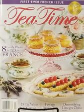 Tea Time Mar Apr 2018 8 Lovely Places For Tea In France FREE SHIPPING mc21