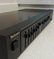 Technics SH-8017 Graphic Stereo Audio Equalizer Vintage • TESTED AND WORKING