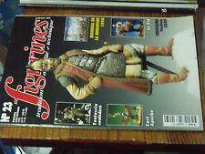 11µ Revue Figurines n°23 Le Cid Fort Apache Fantassin confédéré Cavalier Ougrien