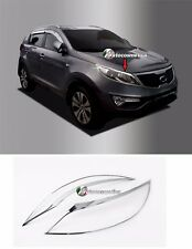 For Kia Sportage 2010 - 2015 Chrome Headlight Surround Trim Set (2 pieces)