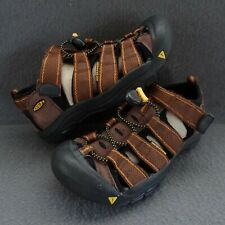 Keen Kids 2 34 Newport H2 Pinecone Brown Sport Sandals Waterproof Shoe 9212-PNCN