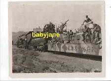 SHANGHAI EXPRESS ORIG 8X10 PHOTO 1932 PRODUCTION STILL FILM CREW ON TOP OF TRAIN