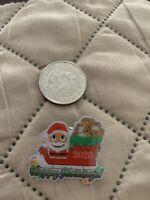 Santa Peccy On A Sleigh