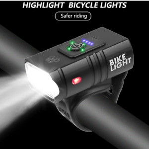 T6 LED Bicycle Light 10W 800LM USB Rechargeable Power Display MTB Mountain Road