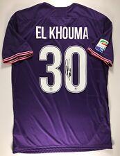 Khouma Babacar Sassuolo ACF Fiorentina Signed 2017-18 Jersey Maglia Autografata