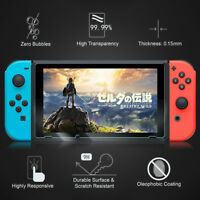 2pcs New Anti-Scratch Screen Protector for Switch Film Guard Shield Nintendo