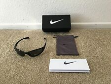 Nike Men's Sunglasses Tarj Sport Black EVO178 Max Optics Lenses New w/Tags Box