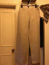 Hobbs pure linen wide leg trousers size 12
