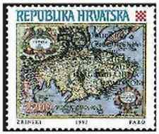 Timbre Croatie 211 ** année 1993 lot 10596
