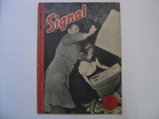1943 WWII revue de propagande militaria n° 1 de septembre French issue