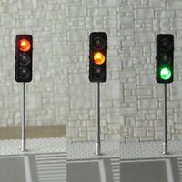 65mm HO/OO LED Traffic Light  Signal Model Railroad Cross Street