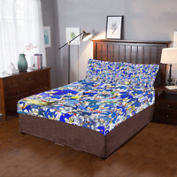 Hot Selling Custom Sonic The Hedgehog Duvet Cover Pillow 3-Pieces Bedding Set