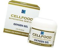 CELLFOOD Oxygen Gel 60ml ( Oxygenating Skin Care ) Promotes youthful complexion
