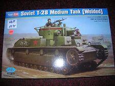 """Hobby Boss # 83852 """" Soviet T-28 Medium Tank  """" 1/35 list $ 68.99 lot # 11654"""