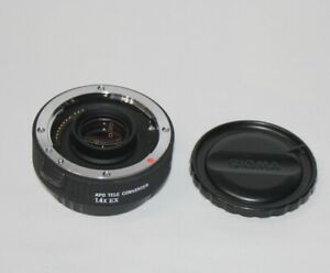 Sigma 1.4x APO EX Tele-converter Canon EF Digital Fit