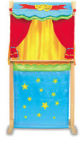 Wooden Puppet Theatre free standing or table top reversible to make play shop