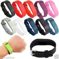 11pc Replacement Wrist Band With Metal Buckle For Fitbit Flex Bracelet Wristband