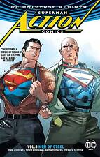 Superman Action Comics Rebirth Volume 3: Men of Steel Softcover Graphic Novel