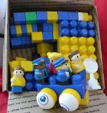 Lot Mega Bloks Blocks Police people 5 lbs 1 to 5 yr olds