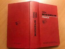 Guide Michelin France 1984