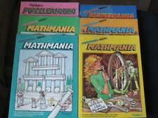 Highlights Puzzlemania Children Activity Books. Home School Lot of Six