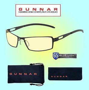 Gunnar Sheadog Onyx Amber Lens Glasses - Blue Light Blocking Glasses